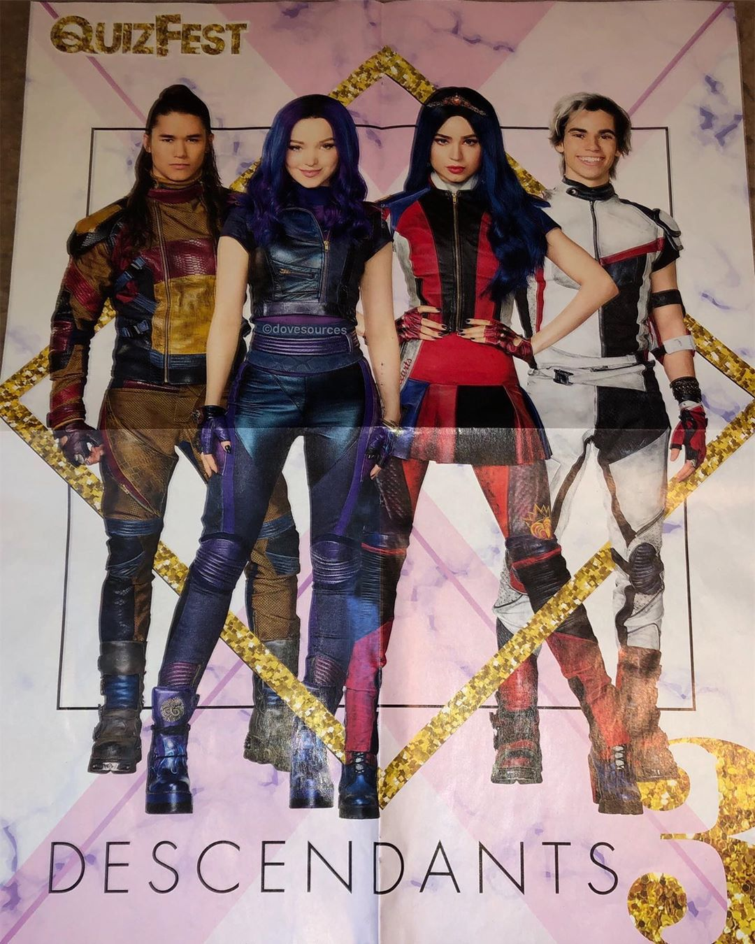 a poster of descendants 3 descendants