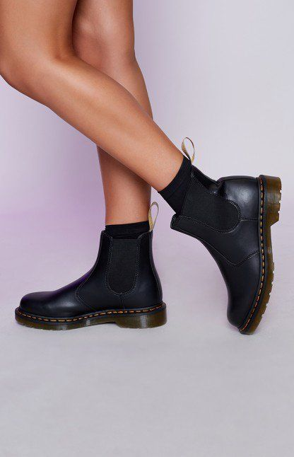 Dr. Martens 2976 Vegan Chelsea Boots In Smooth Te5ob2