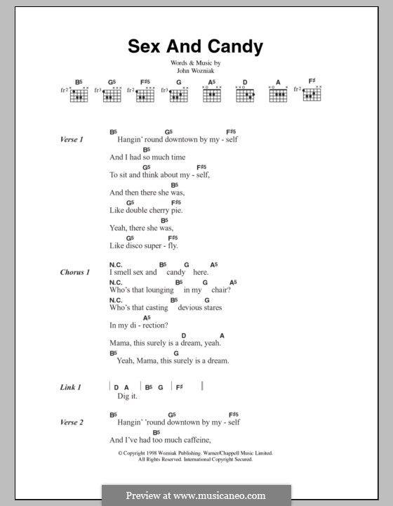 Sex And Candy Maroon 5 Lyrics And Chords By John Wozniak Music