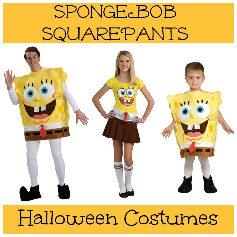 spongebob squarepants halloween costumes for sale
