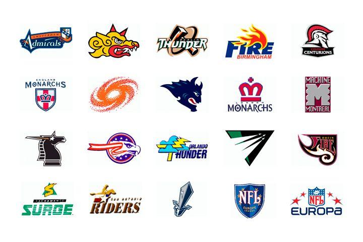 Nfleurope Nfl Europe Nfl Football Helmets Nfl Teams Logos