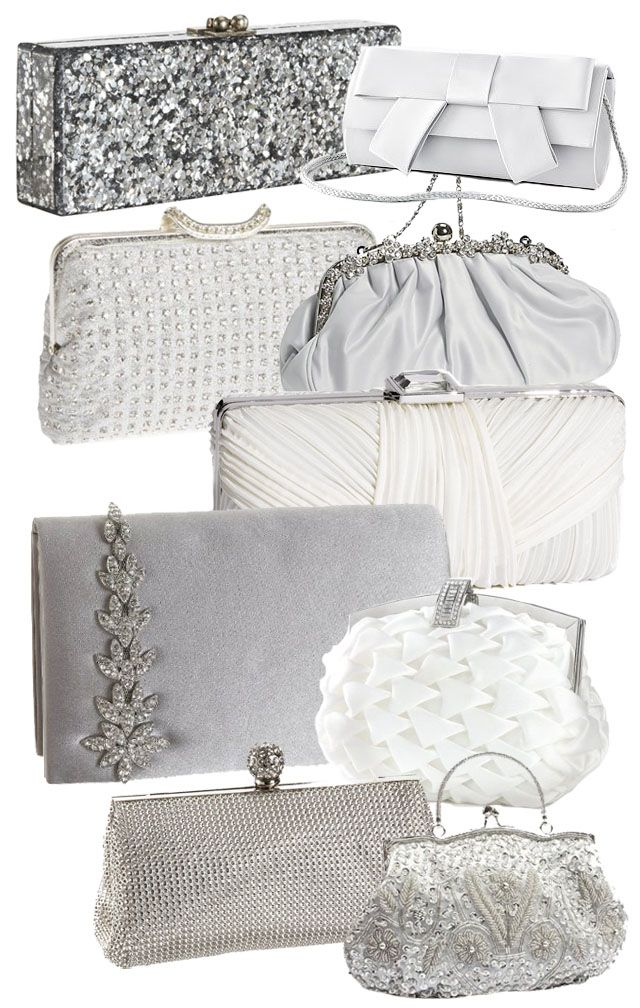 Wedding Clutches And Bridal Bags E Parker Flavia Geo Clutch 1095 Extended Bow