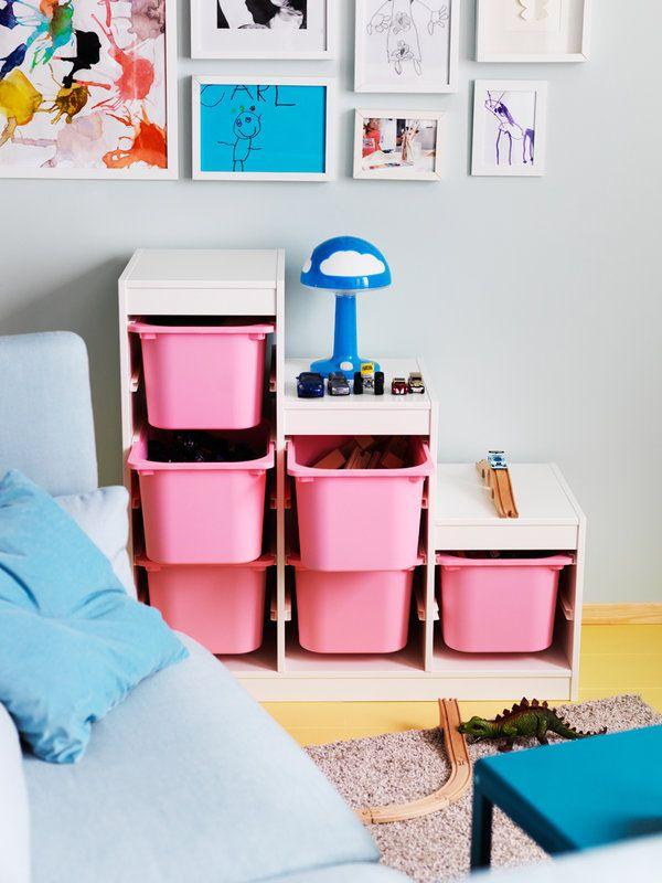 Las mejores soluciones para ordenar el cuarto de los niños