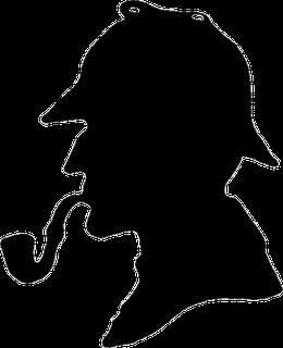 The Great Detectives Sherlock Holmes Sherlock Silhouette Art