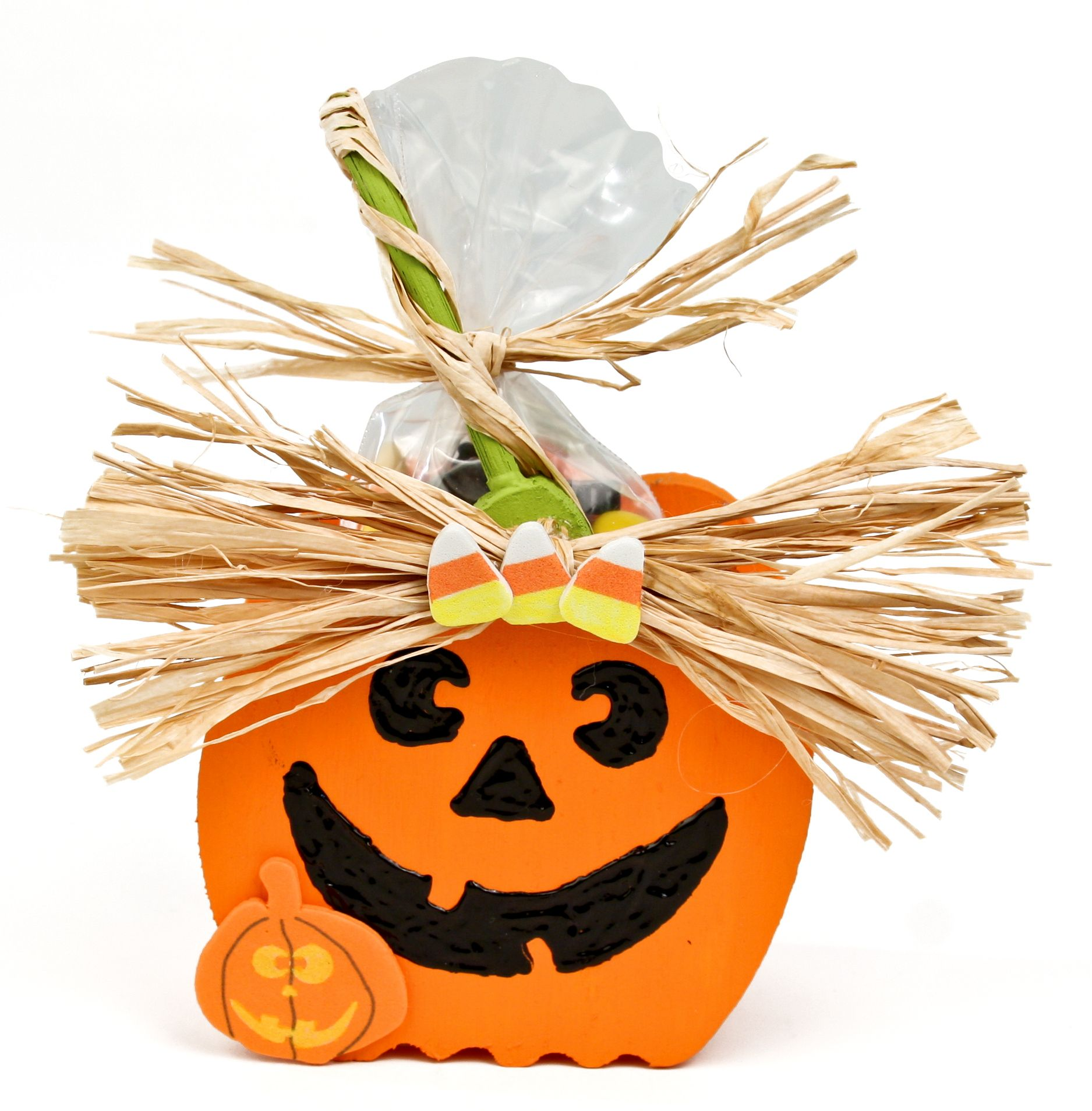 Nicole™ Crafts Mini Pumpkin Basket #kids #craft #halloween | Arts ...