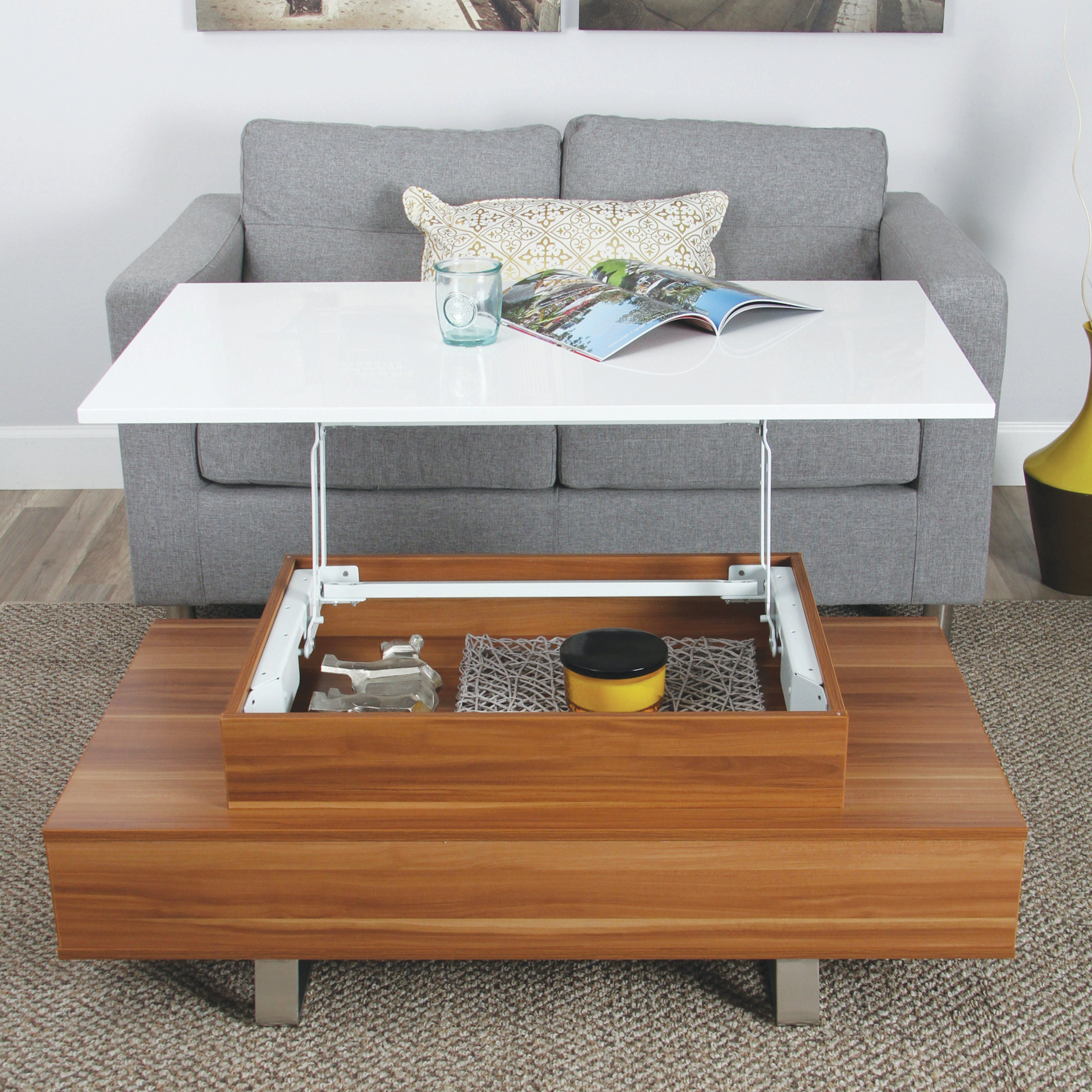 Agata Coffee Table with Lift Top Agata