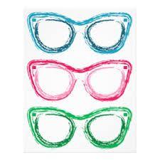 Resultado De Imagem Para Desenho De Oculos Colorido Oculos