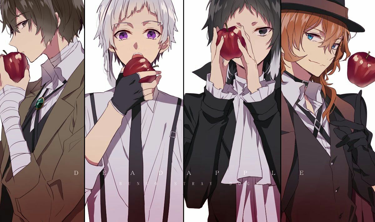 Bungou stray dogs dead Apple bungou stay dogs
