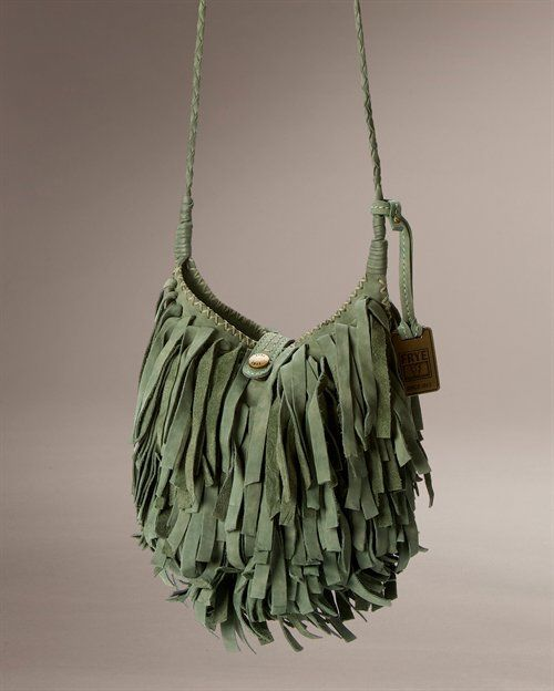 I'm in love with this Frye bag....I'll also take one in the dusty rose color!