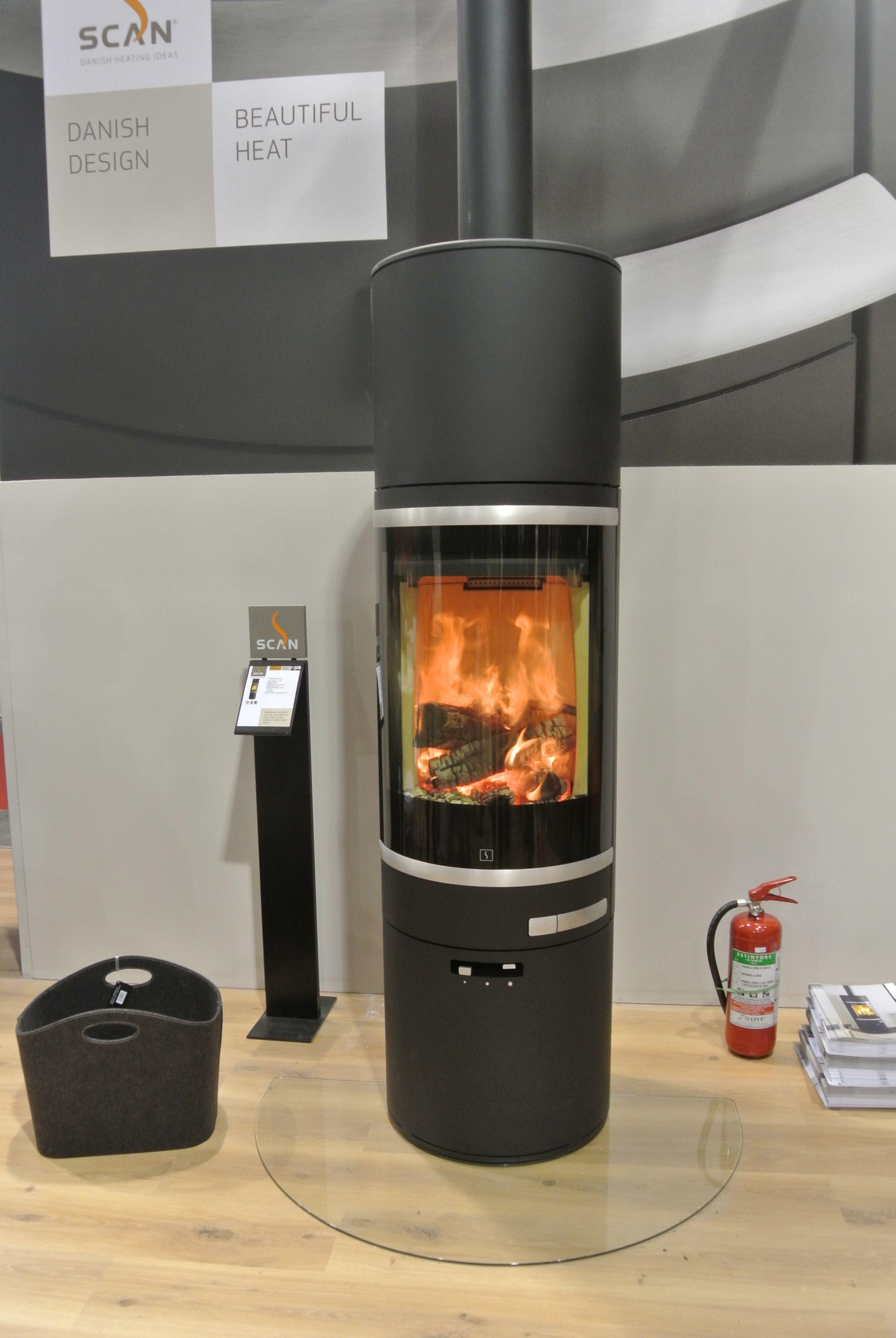 Scan 83 wood burning stove - Cornwall- Wendron Stoves