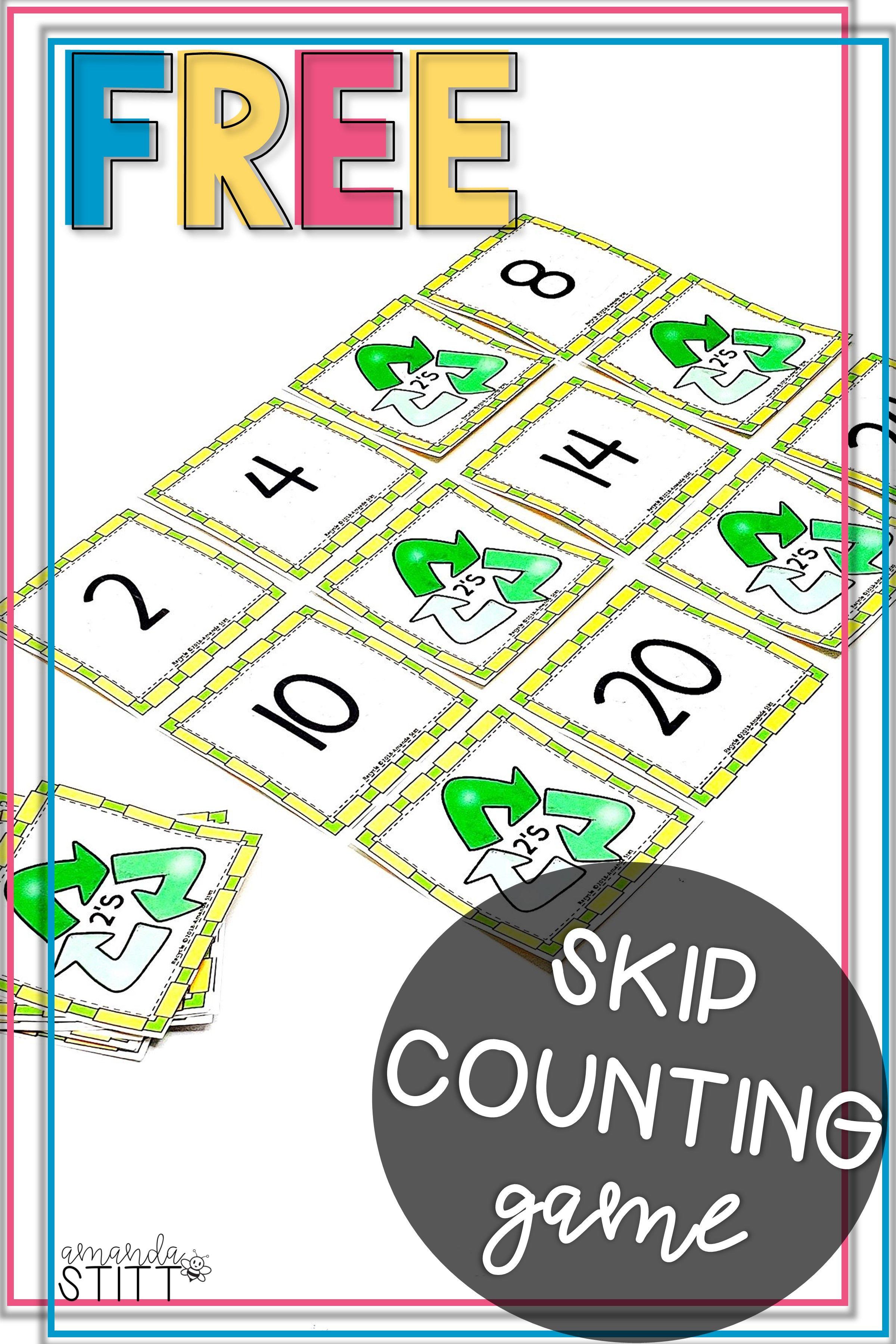 Skip Counting By 2 S Game