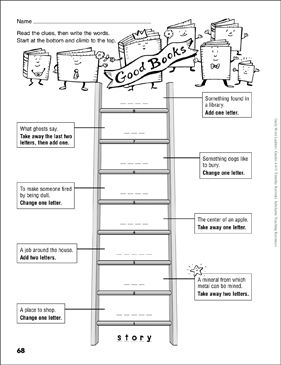 Good Books Word Ladder (Grades 4-6) by Scholastic in 2020