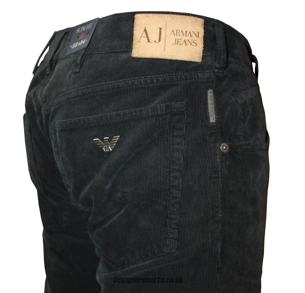 black armani jeans