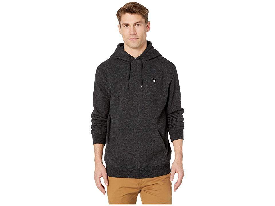 Volcom Mens Single Stone Hooded Pullover Sweatshirt