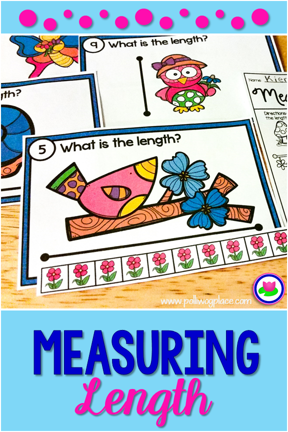 measuring length spring measurement cards fun and engaging teaching resources preschool. Black Bedroom Furniture Sets. Home Design Ideas
