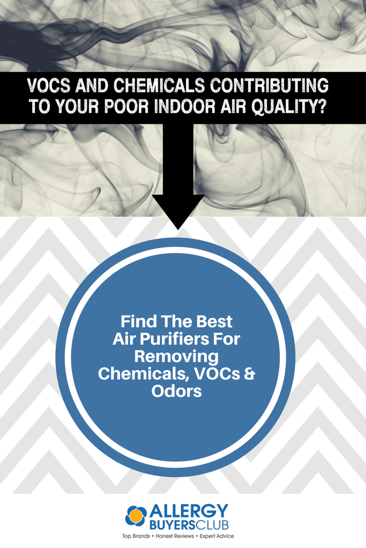 Remove harmful VOCs, chemicals and odors from your home