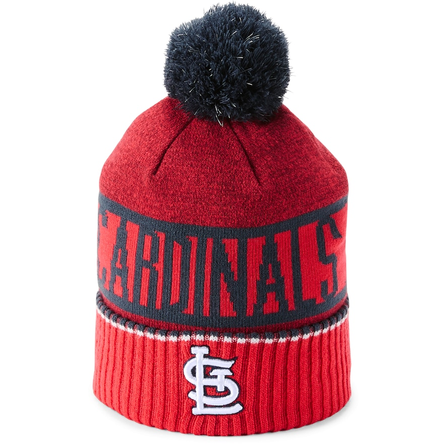 a40c6bd1b Men's Under Armour St. Louis Cardinals Team Pom Beanie, Red in 2019 ...