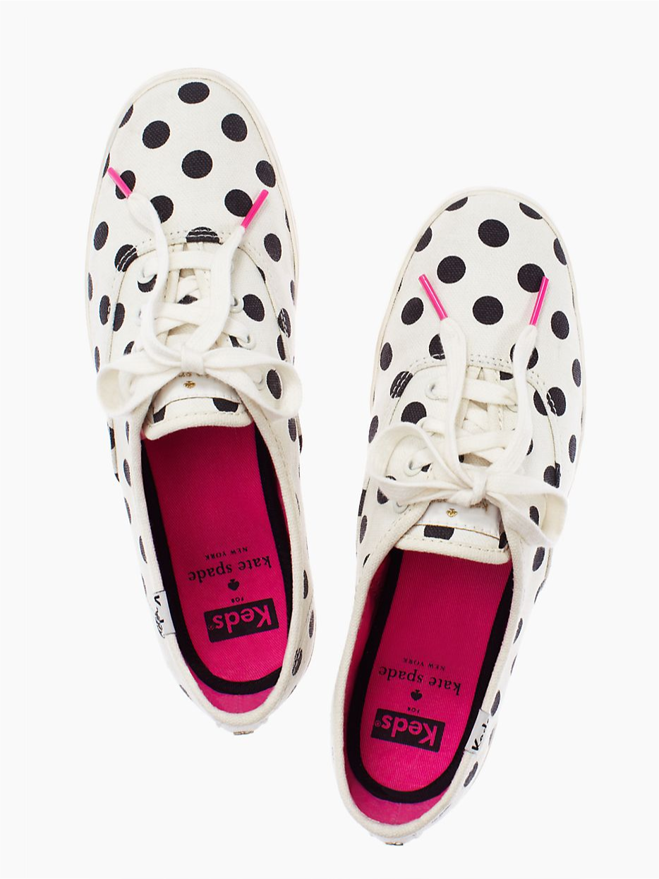 f4d21d2b34a0 Keds for Kate Spade Polka Dot Sneakers