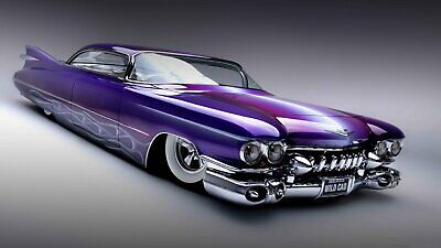 128472 Custom Cadillac Low-rider Matte Decor LAMINATED POSTER US #fashion #home …