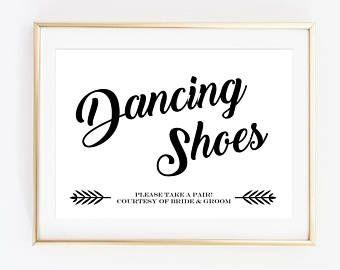 33bd544e4e3f10 Dancing Shoes Sign