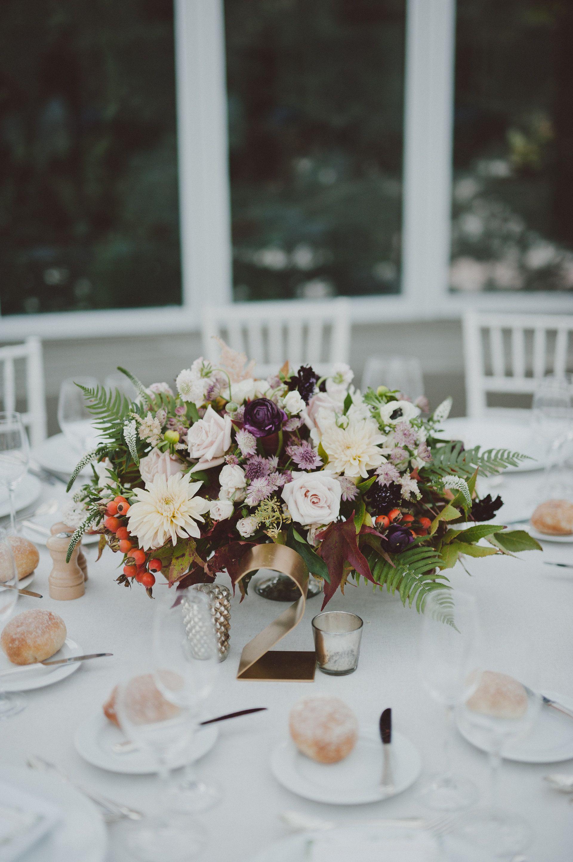Romantic Fall Wedding at the Brooklyn Botanic Garden