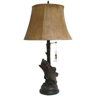 Enhance Your Home Or Office Decor With This Large Mouth Bass