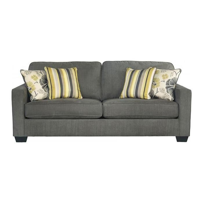 Safia Slate Sofa By Signature Design Ashley Get Your At American Furniture Brooklyn Park Mn