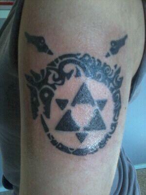 Homunculus Tattoo Tattoos Ouroboros Tattoo Tattoos Anime Tattoos
