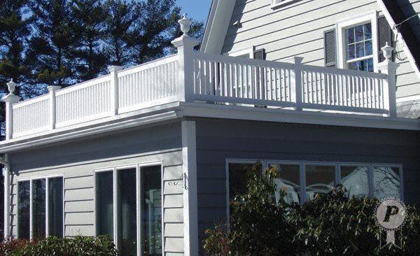 Deck Railing - 99-c | Roofing, Roof, Flat roof