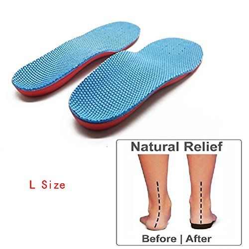 Kids Orthopedic insoles Children Flat Foot Arch Support Pads Correction Health/&