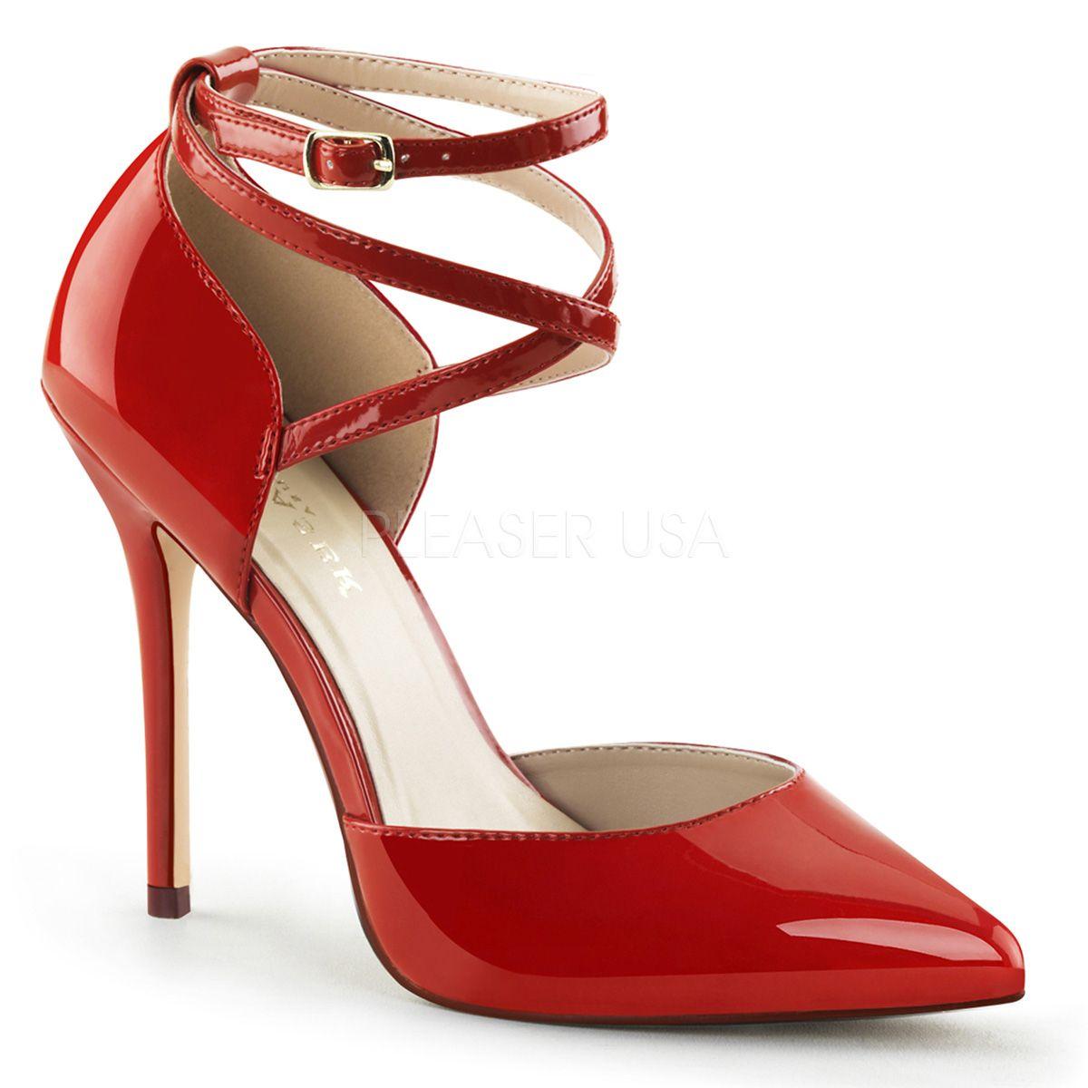 Zapatos rojos Pleaser Fabulicious para mujer Br8Q8o3S