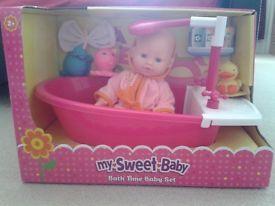 My Sweet Baby Doll Baby Dolls Dolls Baby Toys