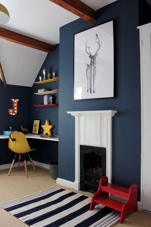 60 Amazing Cool Bedroom Ideas For Teenage Guys Small Rooms 57 Boys Bedroom Colors Boy Bedroom Design Teenage Boy Room