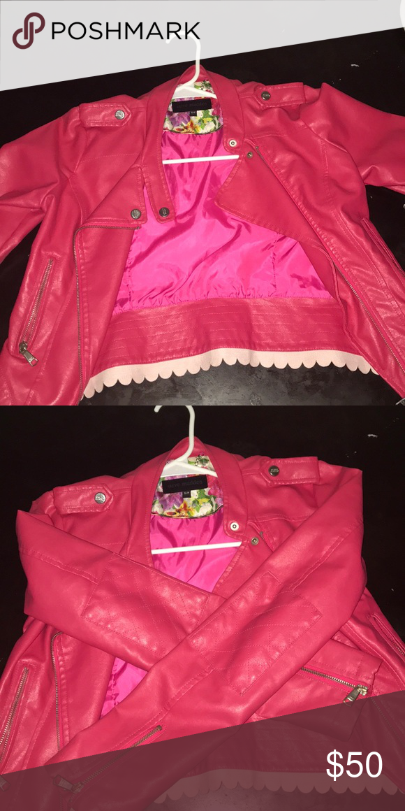 new product 52758 70e54 Steve Madden pink jacket. This is a very nice jacket I ...