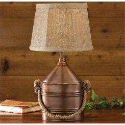 Table Lamps Lighting Lamp Table Lamp Rustic Lamps