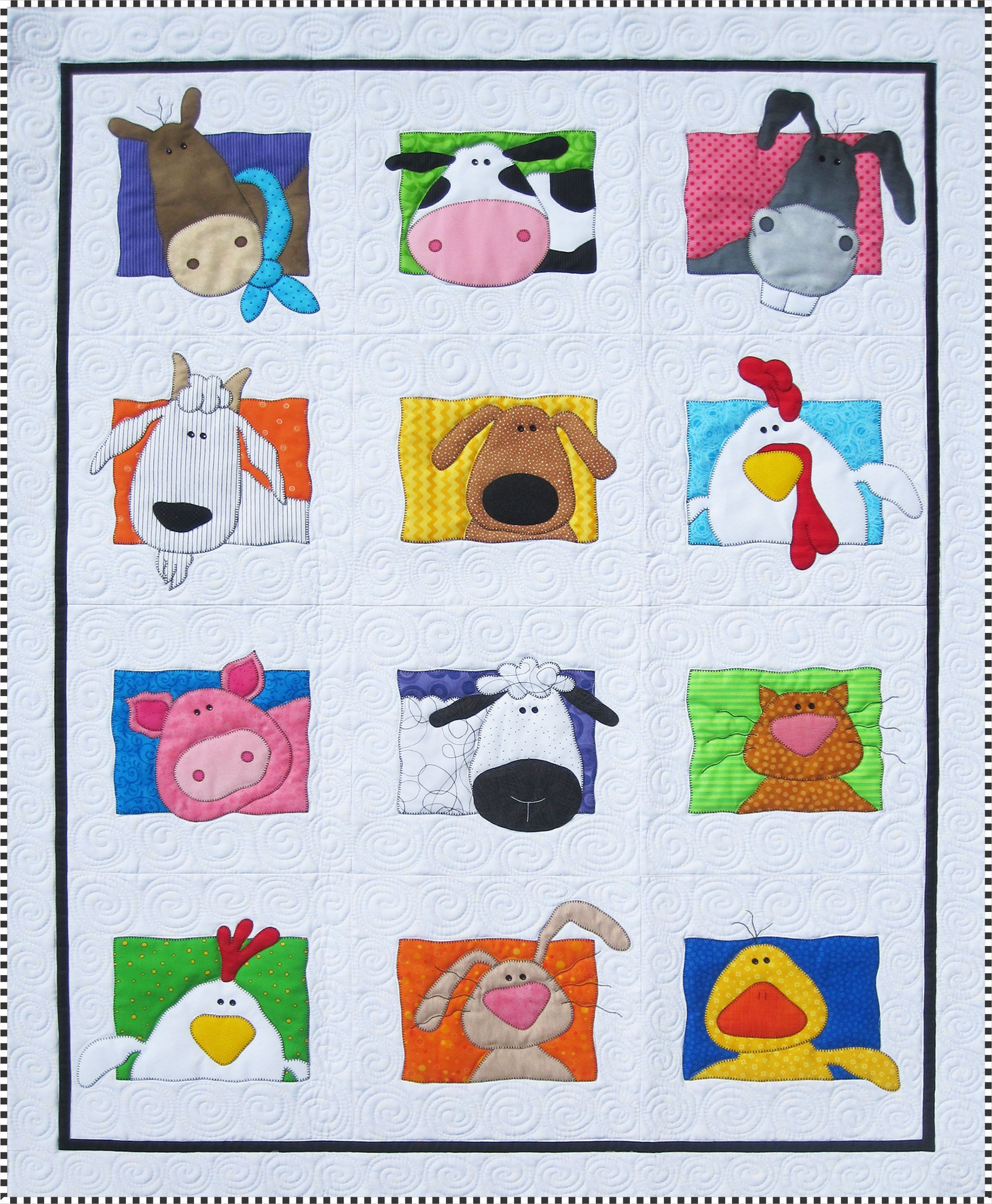 Animal Whimsy Quilt Pattern