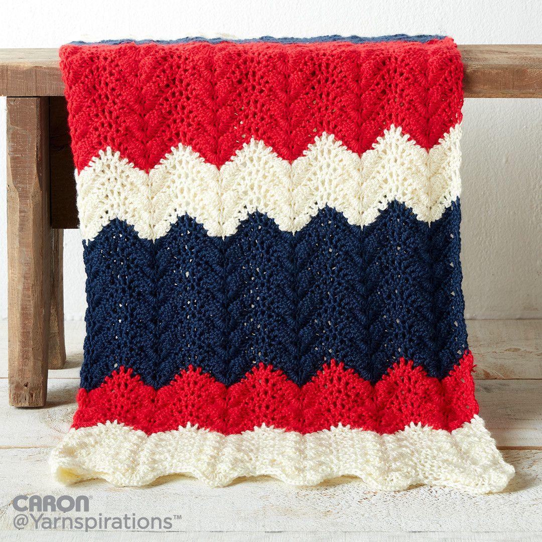 Summer Ripple Crochet Blanket | crochet/knit | Pinterest | Ripple ...