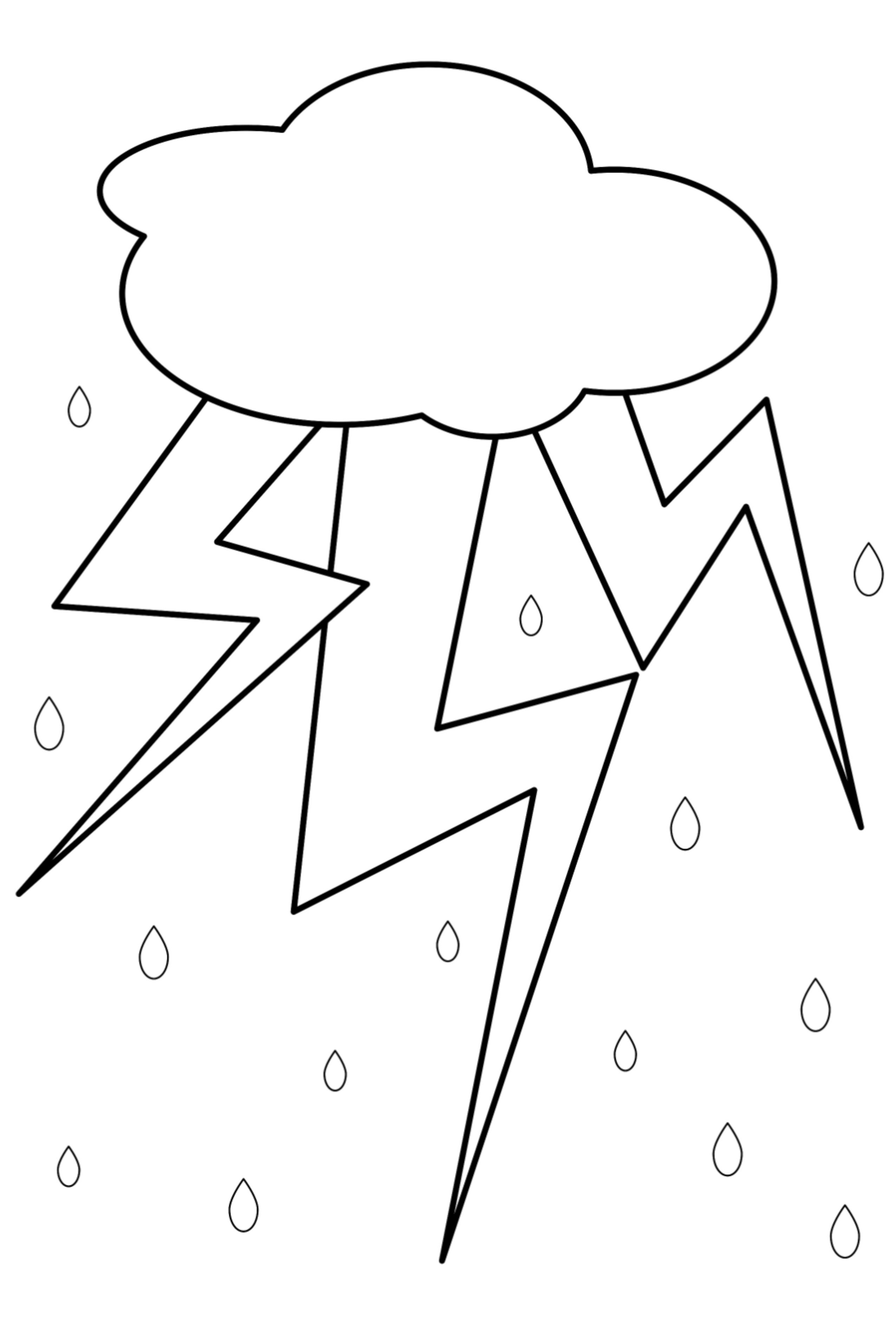 Coloring Picture Weather