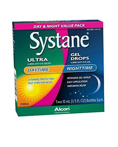 #new #Systane Day & Night Eye Drops packs include daytime and nighttime relief from dry eye. Use Systane Ultra for comfort during the day and Systane Gel drops f...