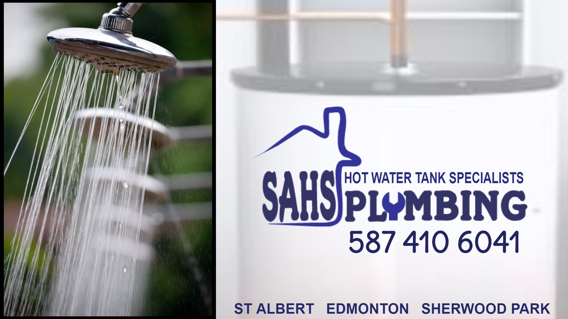 Hot Water Tank St Albert - SAHS Plumbing At Your Service - Hot Water Tan...