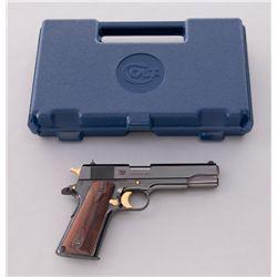 Colt Springfield Armory Gold Classic .45 Pistol Semi-Automatic Pistol