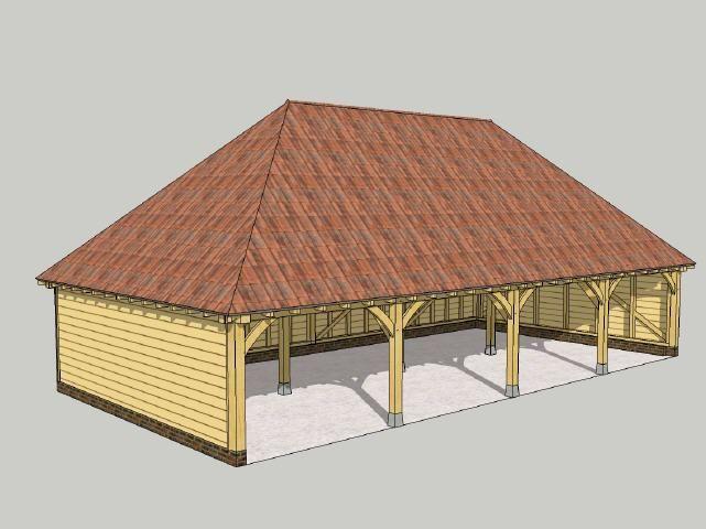 E & D BOUWPAKKETTEN en houtbewerking - eiken bijgebouwen en eiken gebinten voor ...