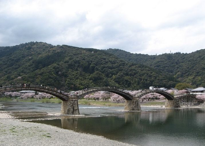 錦帯橋 Kintai Bridge Iwakuni City