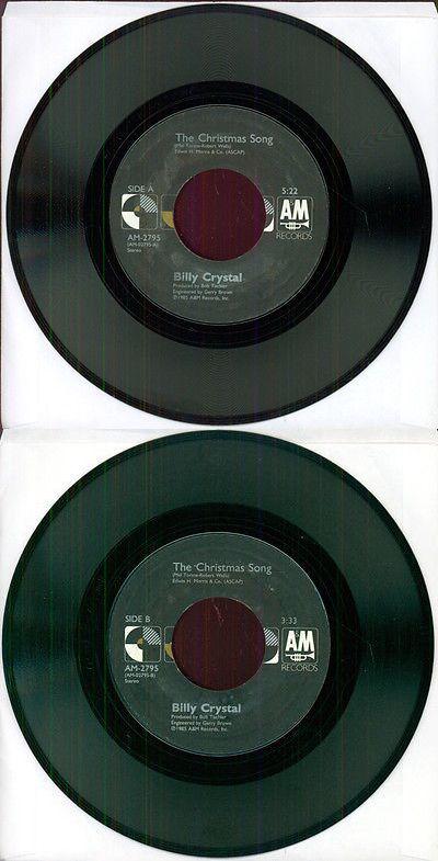 Christmas Songs And Album: Billy Crystal The Christmas Song 7 45 ...