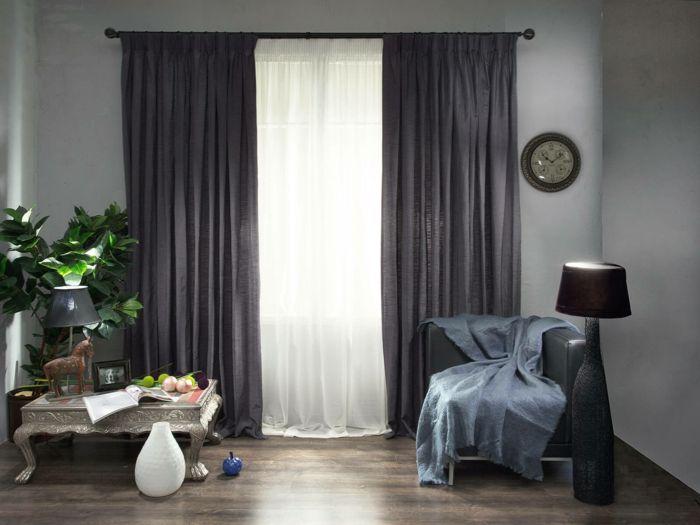 Rideau isolant  idées comment décorer vos fenêtres Maison Pinterest