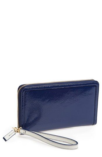 db8e0dc7a77fa9 Halogen® Patent Leather Zip-Around Wallet | Nordstrom | Garments ...