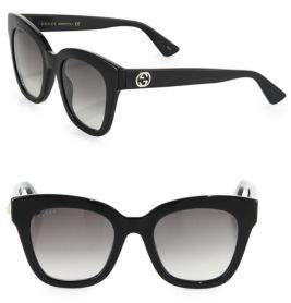 32820c6c4 Gucci 50MM Square Cat Eye Sunglasses | Shop the look products ...