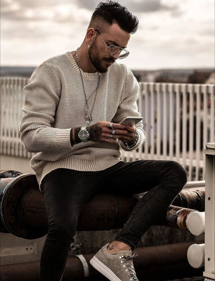 48 spring chic outfits for men's street style 16 #menstreetstyles