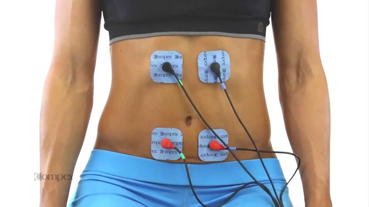hot products hot sales lowest discount Abdominal Muscles Electrode Placement for Compex Muscle ...