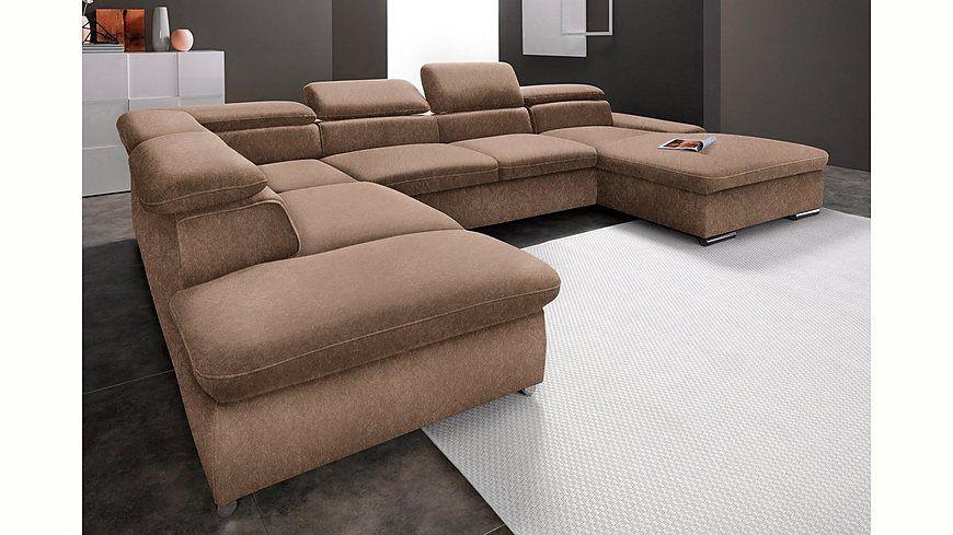 sit\more Wohnlandschaft, wahlweise mit Bettfunktion Jetzt - wohnzimmer couch günstig